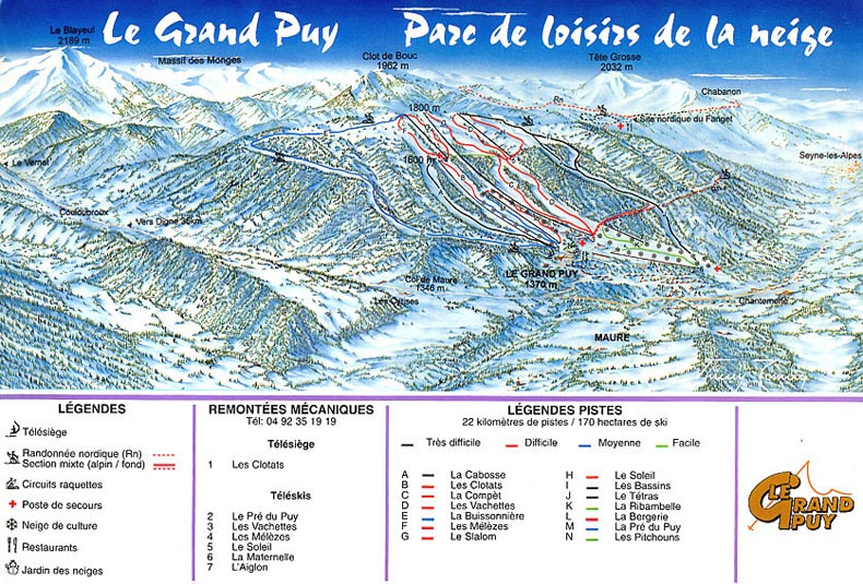 Skigebied Le Grand Puy